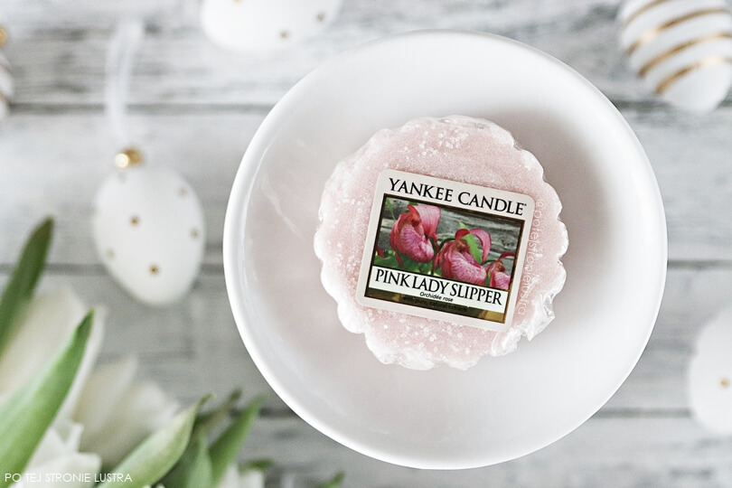 pink lady slipper yankee candle wosk