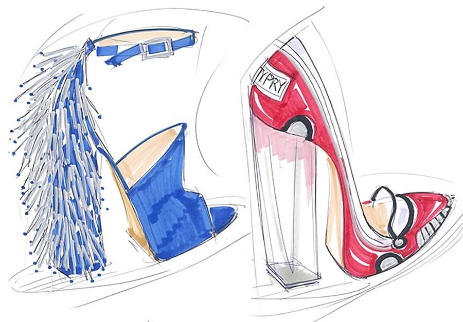 Katy Perry lança a sua marca de Sapatos!