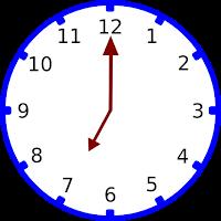 Gambar jam pukul 07.00