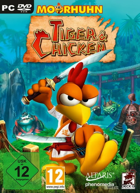 Game Moorhuhn Tiger and Chicken PC