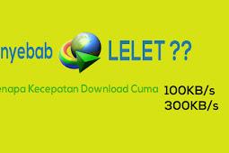 4 Penyebab Download IDM Menjadi Lambat