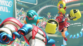 Arms game PS3 wallpaper