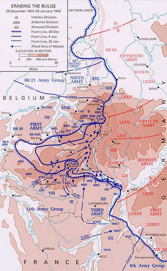 The final phase of the Battle of the Bulge