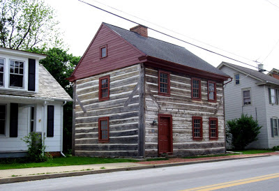 historic log house