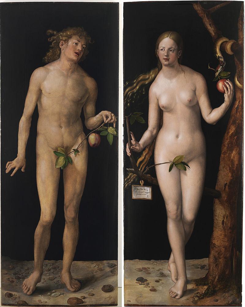 Adão e Eva - Pinturas com temas tirado da bíblia