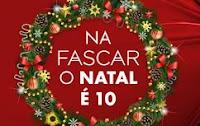 Promoção na Fascar o Natal é 10 promocaofascar.com.br