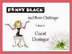 Guest Designer Penny Black and more Challenge