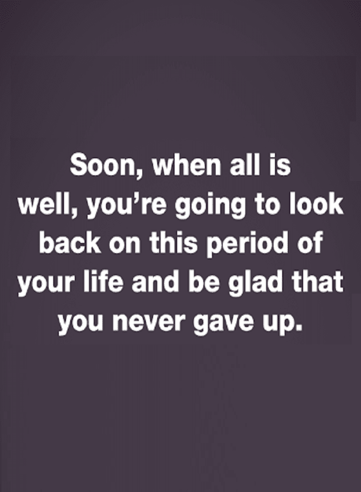 Never give up quotes,
