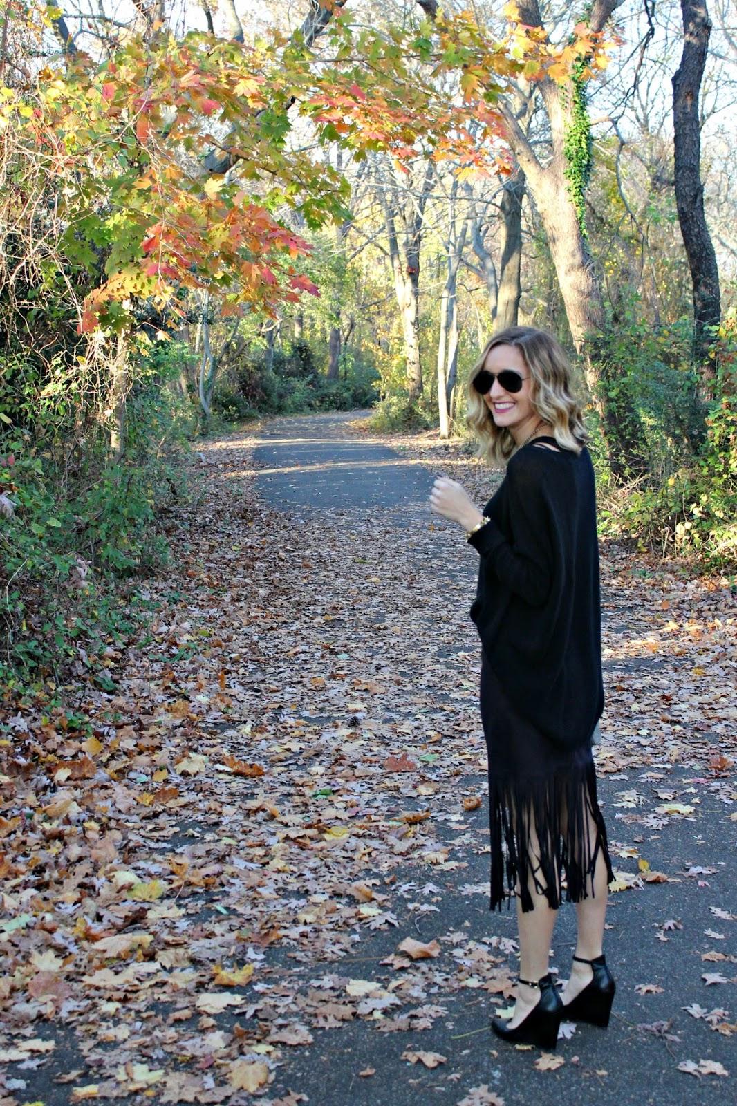 harmony & havoc fringe skirt