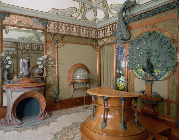 Art nouveau et jugendstil courants artistiques et litt raires de 1880 1920 la femme et le paon - Jugendstil innenarchitektur ...