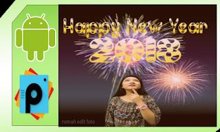 Membuat ucapan selamat tahun baru