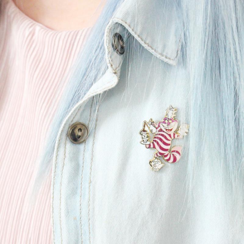 blog mode cheveux bleus souchka