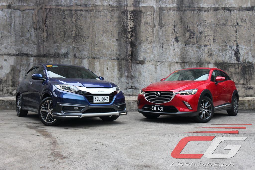 2017 honda hr v el vs 2017 mazda cx 3 sport 2wd philippine car news car reviews automotive. Black Bedroom Furniture Sets. Home Design Ideas