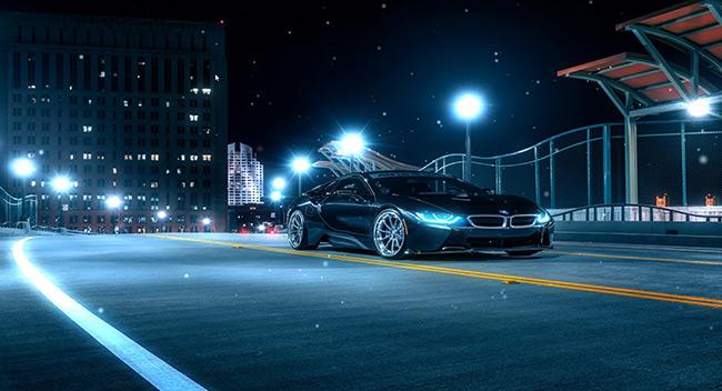 BMW i8 - Audio Responsive Wallpaper Engine | Download ...