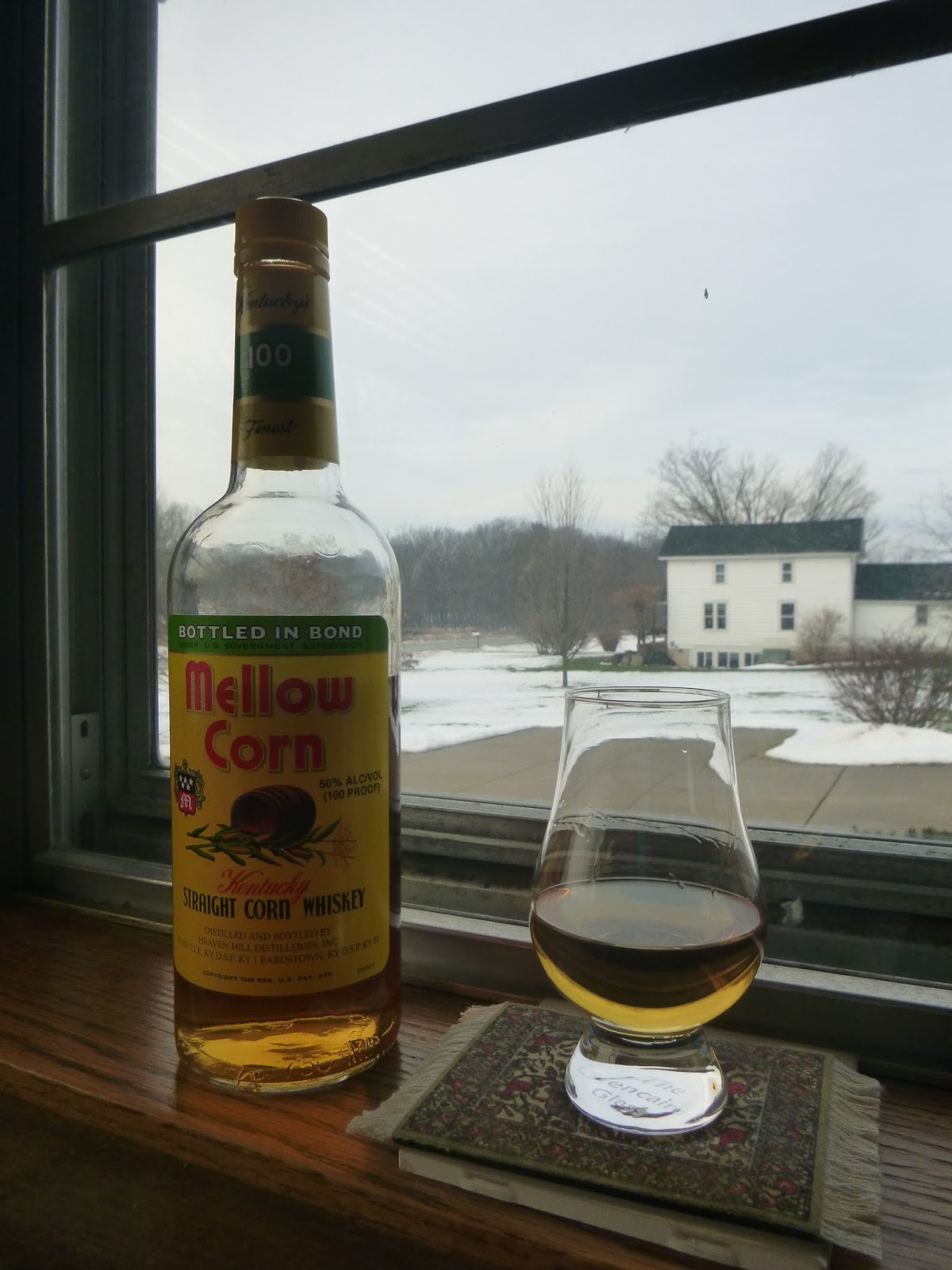 mellow corn straight corn whiskey review