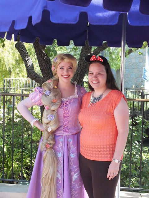 דיסני קליפורניה - מפגש עם הנסיכה רפונזל