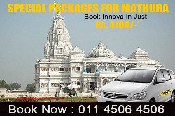 Taxi on airport | Taxi Near Me- Taxioncall: Book Innova For Mathura