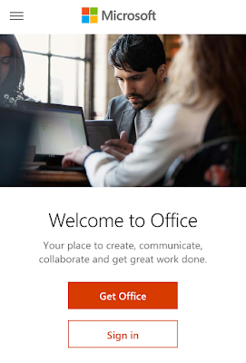 Home page to the Office365 - LIM Jun Long