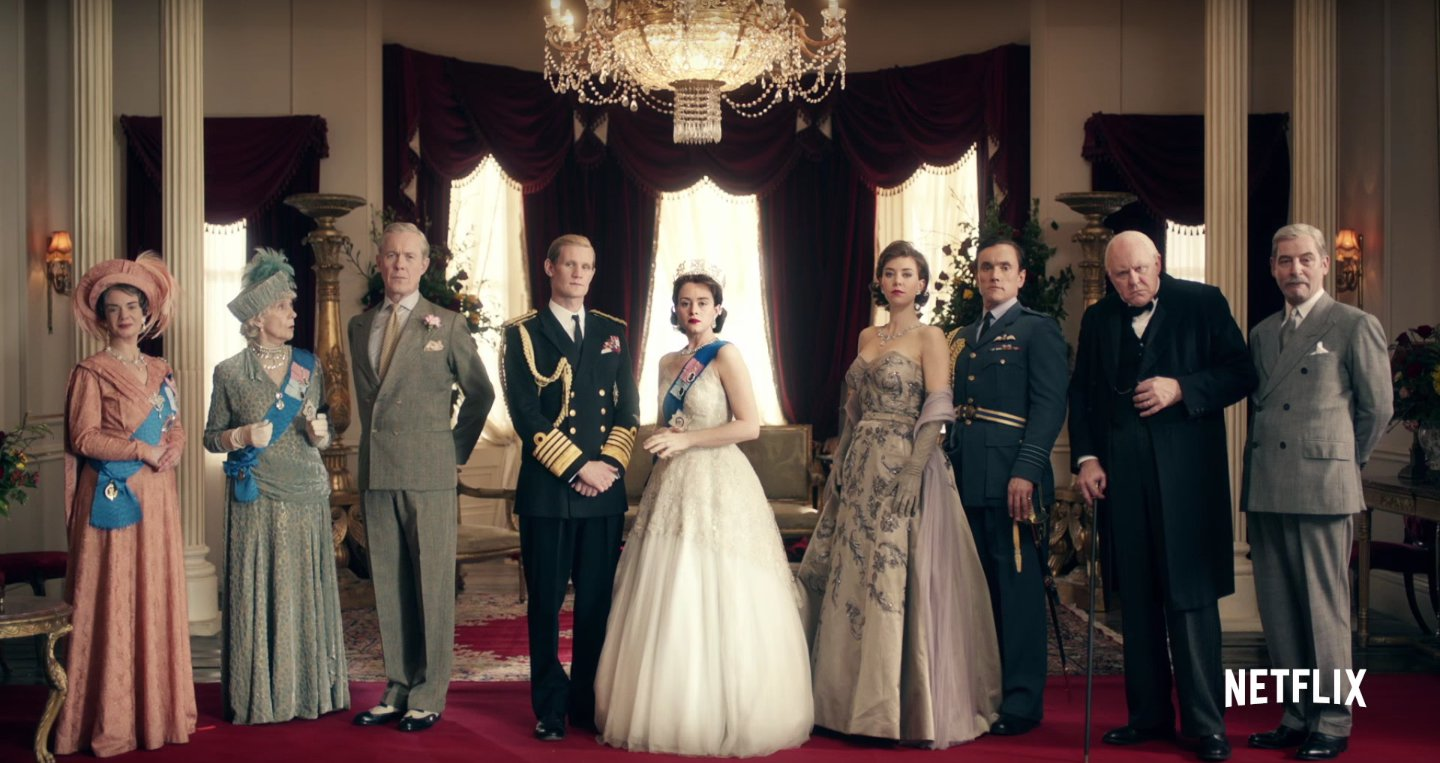 Netflix Original The Crown cast photo