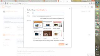Cara Membuat Blog Dalam Dengan Sekali Klik