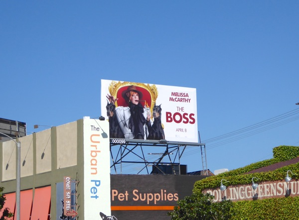Boss film billboard