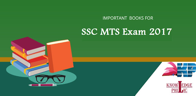 Best Books for SSC MTS 2017 Exam Preparation