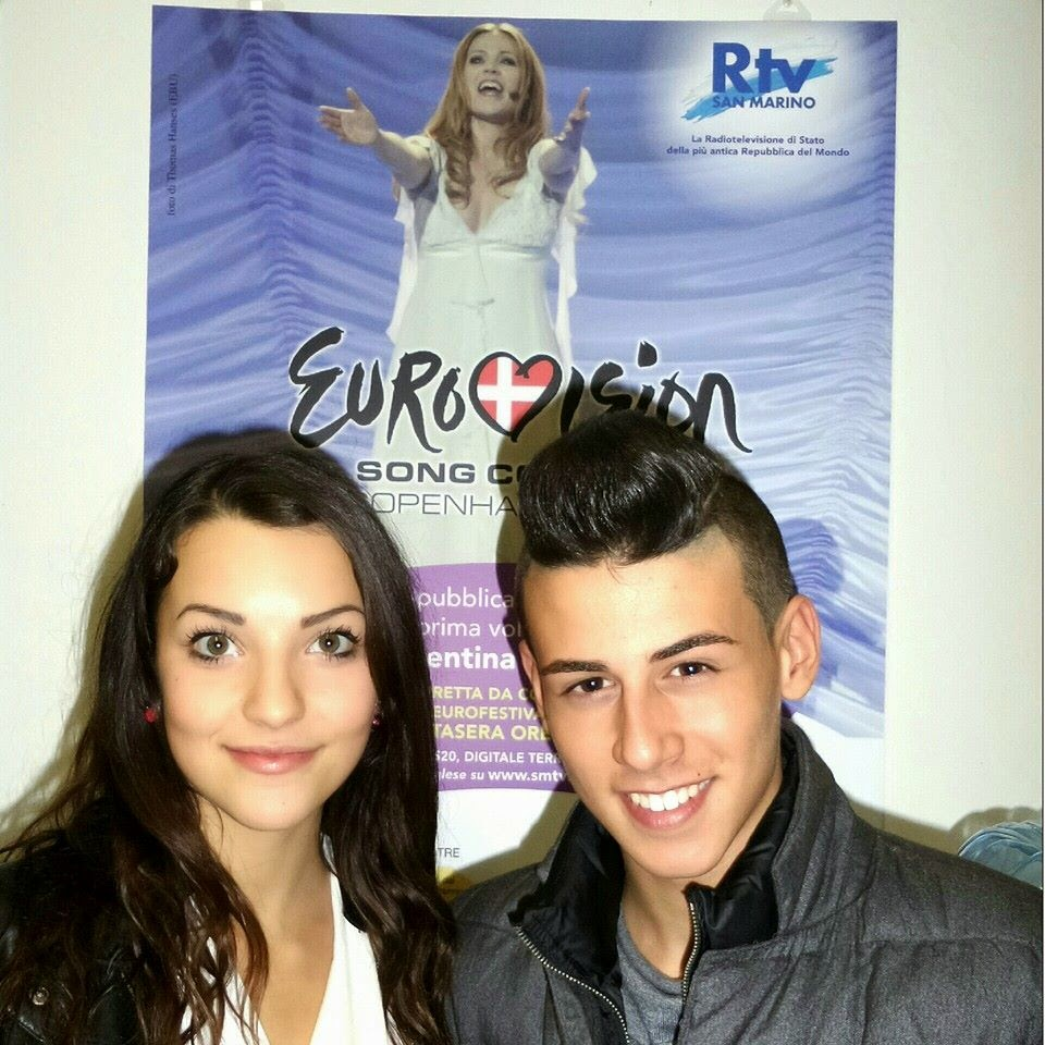 San Marino announced it will send its Junior Eurovision entrants of 2013  and 2014 to Vienna 2015  Michele Perniola (16) and Anita Simoncini (15) of  The ... 2ac2c469ab34