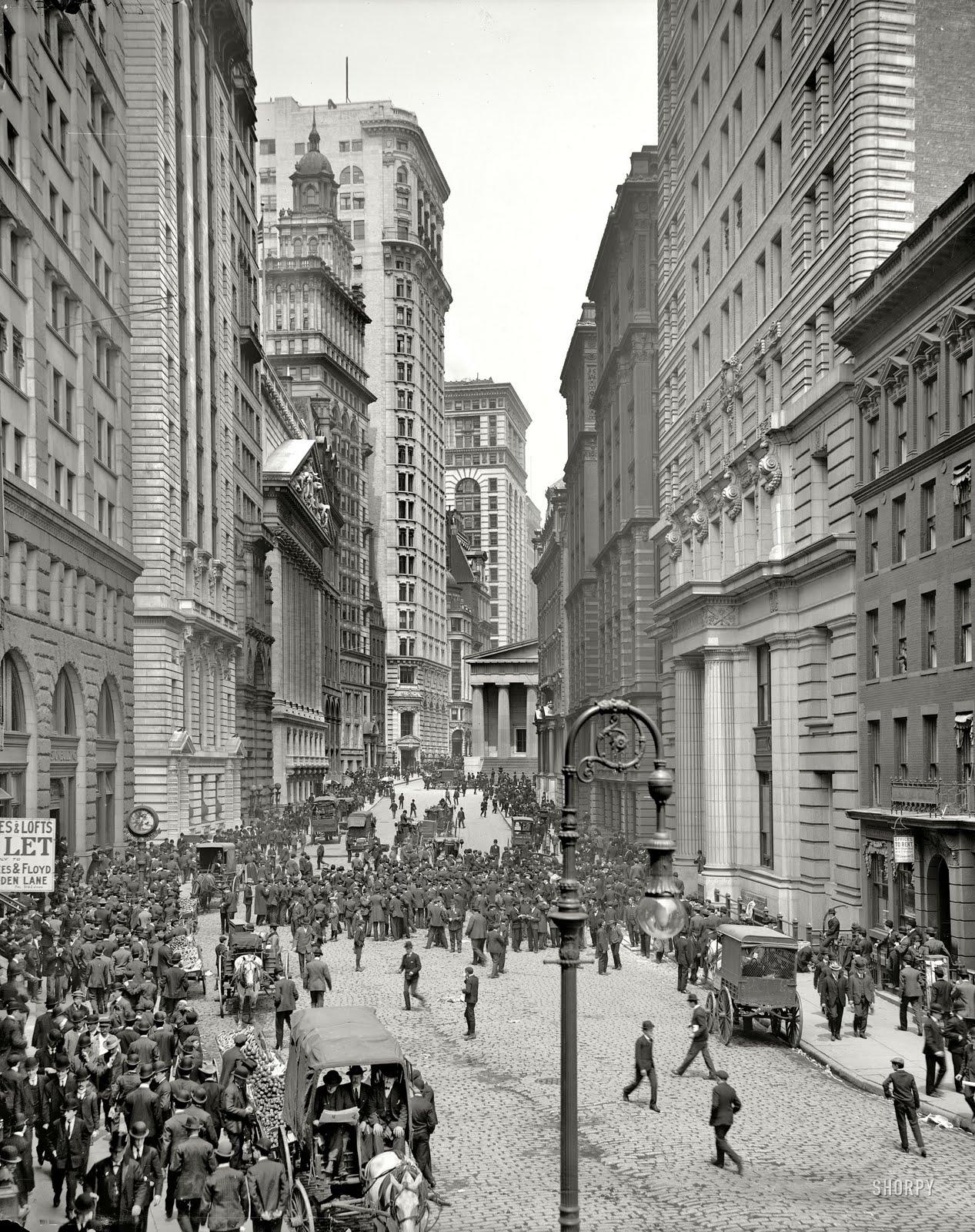 new york history geschichte the curb market 1905. Black Bedroom Furniture Sets. Home Design Ideas