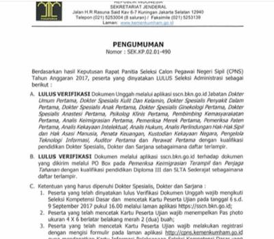 Ketentuan yang harus dipenuhi pendaftar SLTA D3 dan S1