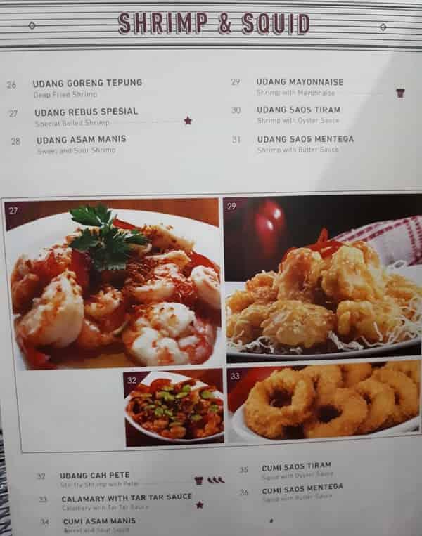 Seafood Udang dan Cumi Resto Anggrek