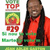 << Vote&#39;m, si nou te vote Martelly >> , le message de Top Adlerman - Candidat de l&#39;Ouest - Election 2016