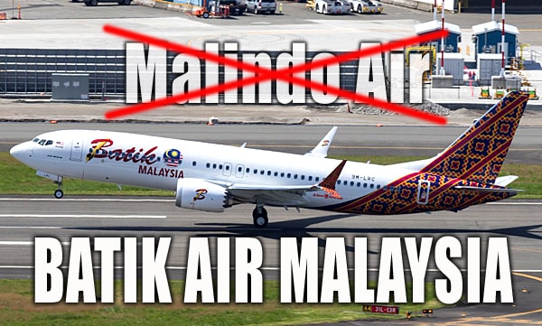 Batik Air Malaysia: New Name for Malindo Air