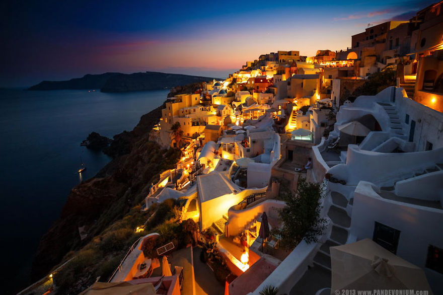 Santorini, Hellas (Greece) - Bulgarian Photographer Captures Amazing Moments Traveling The World