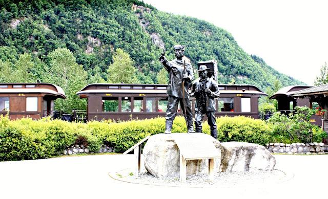 Prospectors Centennial Statue Skagway