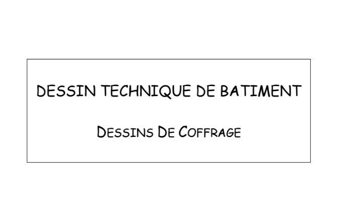 ralisation des plans de ba ferraillage amp coffrage pdf google