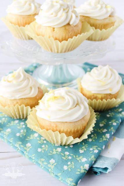lemon poke cupcake recipe