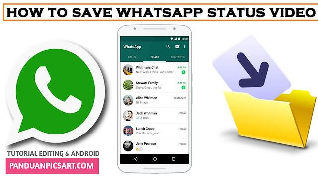 Cara Menyimpan/Mengambil Status Whatsapp Milik Teman Tanpa Screenshot