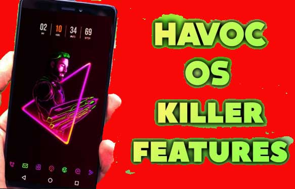 Review Havoc Os Official dan Havoc Os Mod Khusus Whyred Redmi Note 5 Pro
