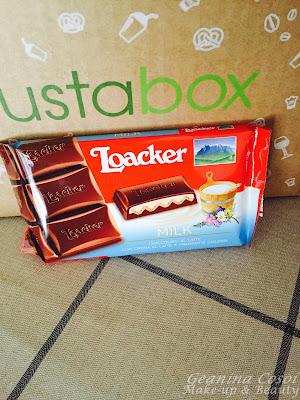 Chocolate con leche Loacker Degustabox Febrero 2016