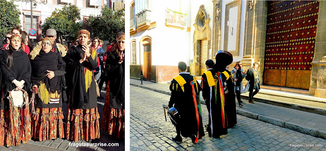 Natal em Sevilha - grupos de cantadores