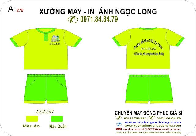 đồng phục mầm non tại Đà Nẵng