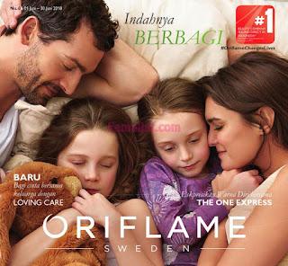 Katalog Oriflame Terbaru Desember 2018 - Hal 001