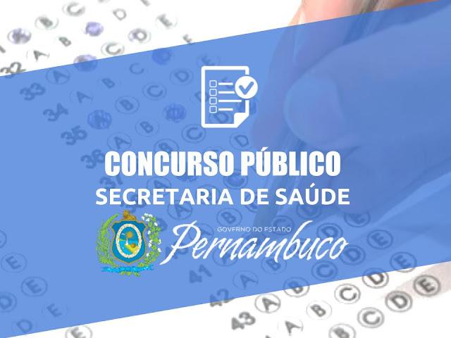 Concurso Público da Secretaria Estadual de Saude de Pernambuco