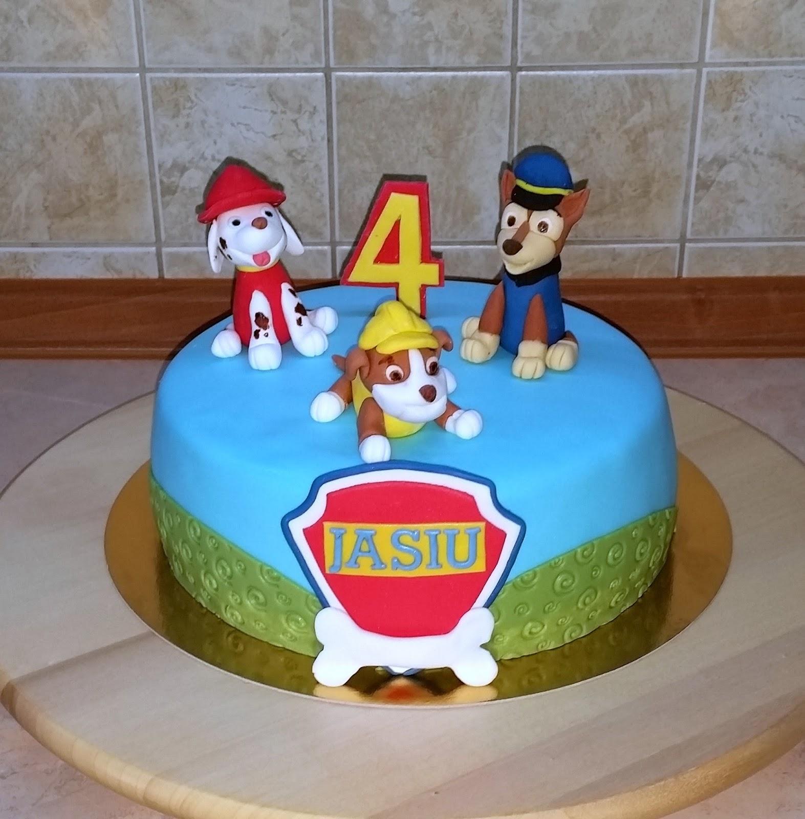Torty Sylwii Tort Z Bajki Psi Patrol