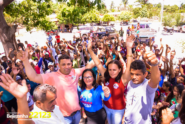 Zona Rural de Milagres do Maranhão Abraçaram a Candidatura de Belezinha 22.123