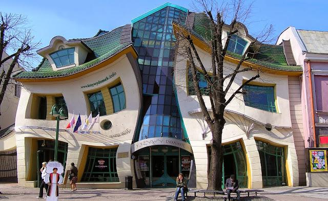 Những tòa nhà với thiết kế vượt ra khỏi giới hạn thông thường.