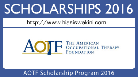 AOTF Scholarship Program 2016