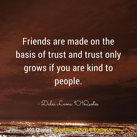 dalai lama quotes friendship