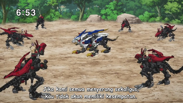 Zoids Wild Episode 01 Subtitle Indonesia