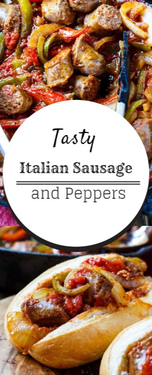 Tasty Italian Sausage and Peppers